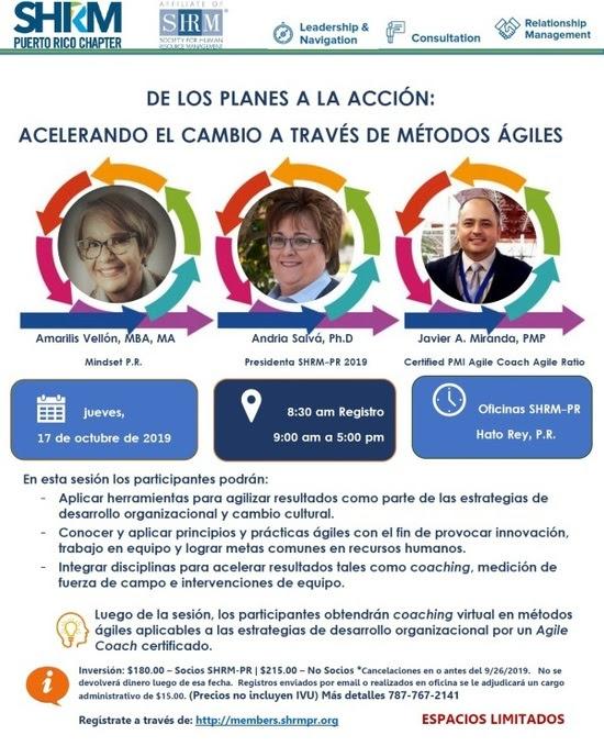 SHRM Agile Scrum Javier Miranda SHRM